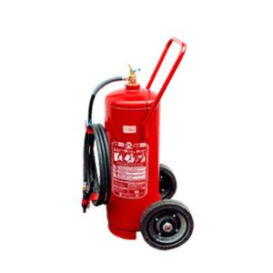 Extintor Água Sobre Rodas