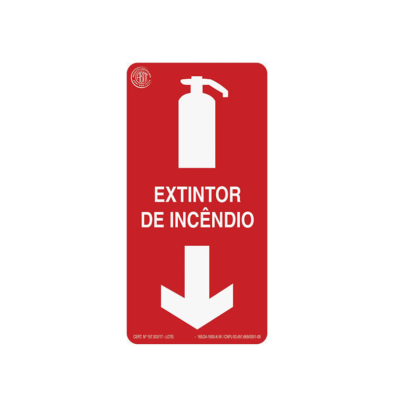 """Featured image for """"Sinalização Extintor de Incêndio"""""""