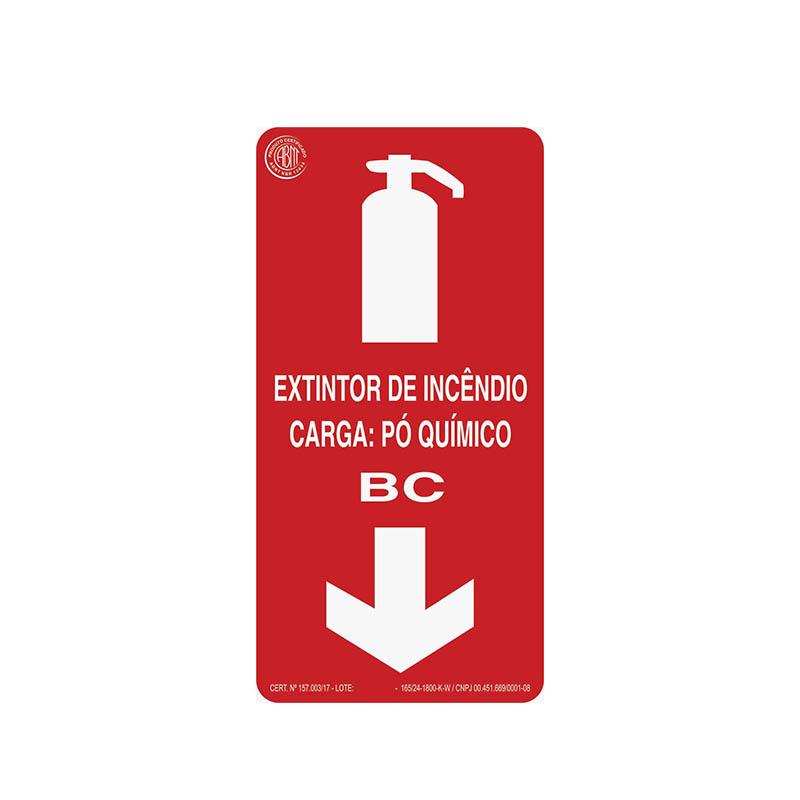"""Featured image for """"Sinalização Extintor Pó BC"""""""