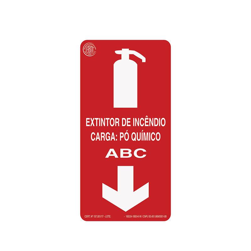 """Featured image for """"Sinalização Extintor Pó ABC"""""""