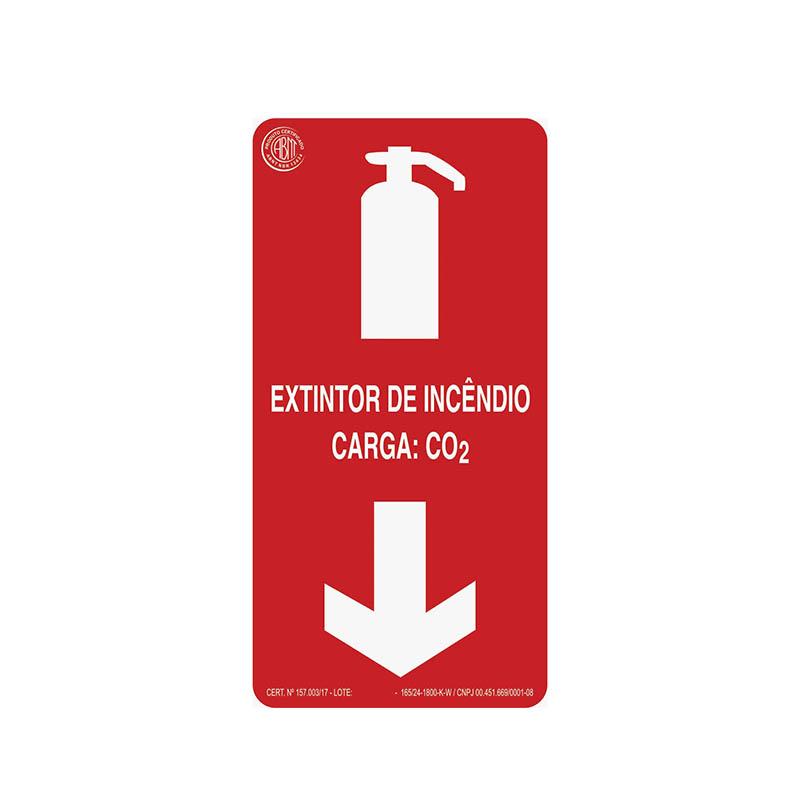 """Featured image for """"Sinalização Extintor CO2"""""""