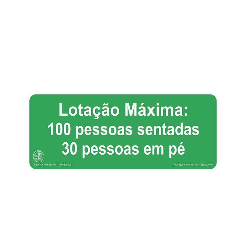 """Featured image for """"Sinalização M2 (Lotação Máxima)"""""""