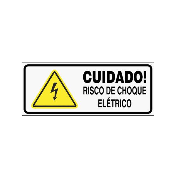 Sinalização Risco de Choque Elétrico