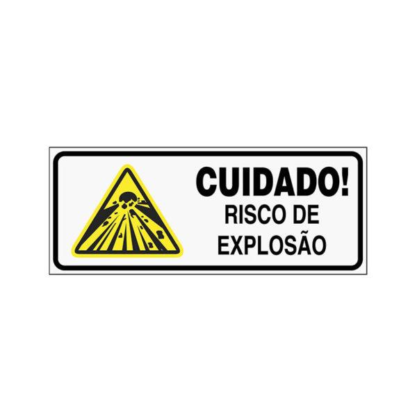 Sinalização Risco de Explosão
