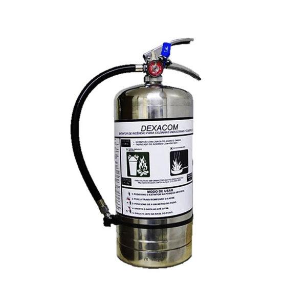 Extintor Classe K 06 Kg Inox