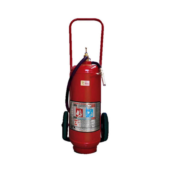 Extintor Pó BC Sobre Rodas