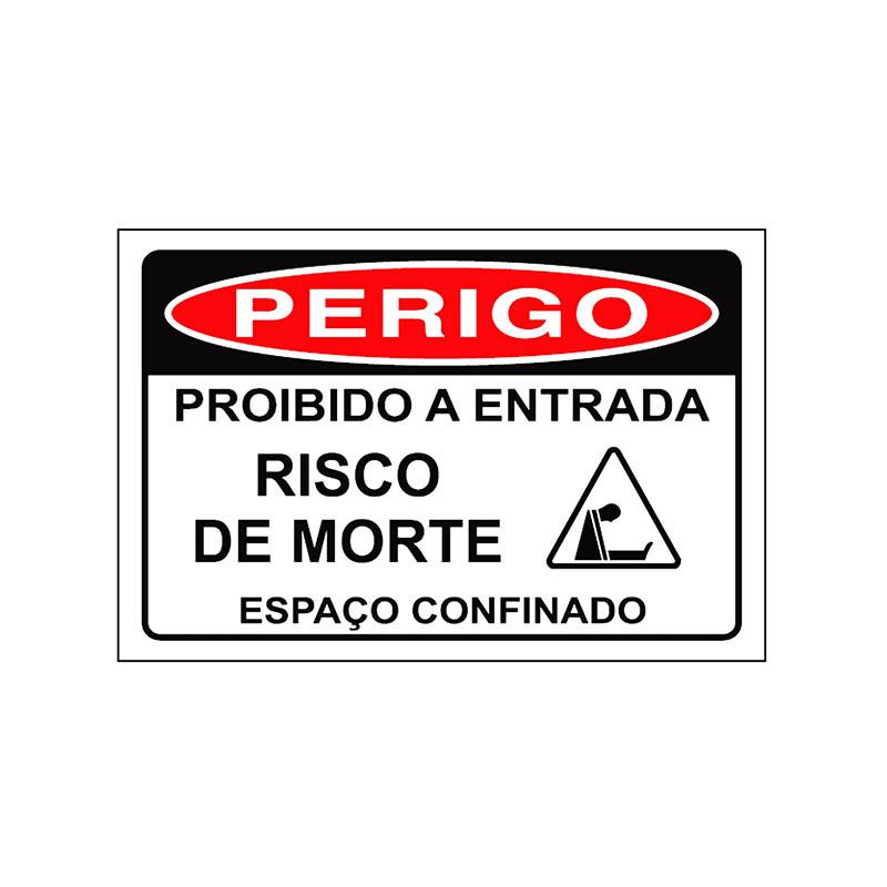 """Featured image for """"Sinalização Espaço Confinado"""""""