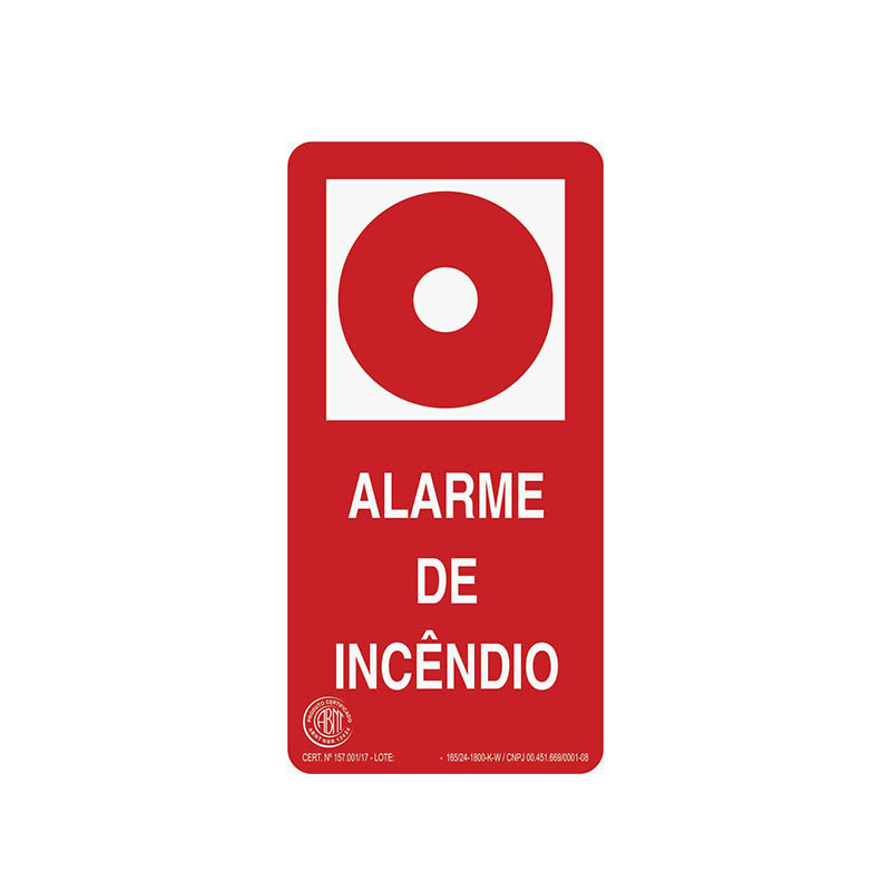 """Featured image for """"Sinalização Alarme"""""""
