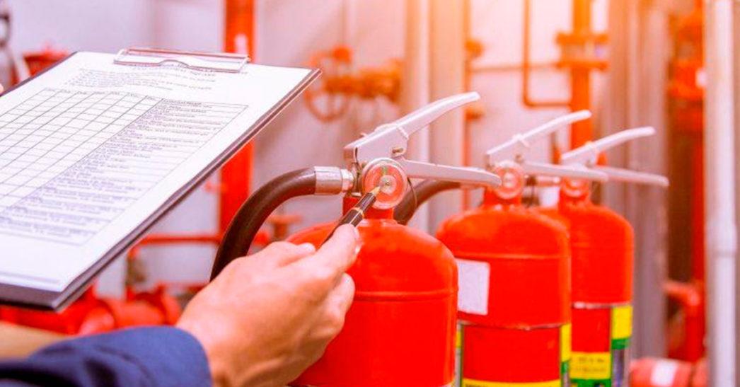 Extintores de incêndio e a Segurança no Trabalho