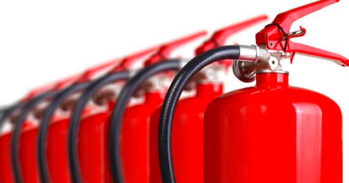 Saiba por que é importante pintar seu extintor